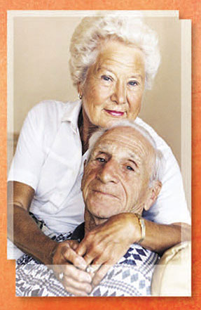picture of an older couple
